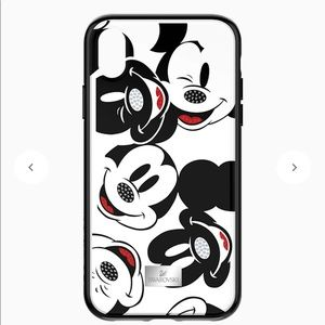 Swarovski Mickey iPhone case for X/XS
